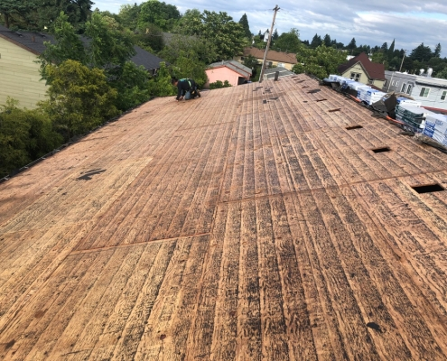 Roof installation, re-roof, roof replacement, roofing contractor, roofing service portland, roof repair